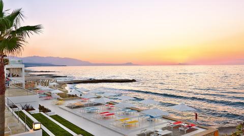 Krít,Rethymnon,Hótel, White Palace,sól, Hotel,gisting, sól,sumar,